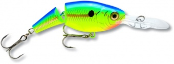 воблер rapala jointed shad rap 1,8-3,9м, 5см, 8гр, цвет: prt